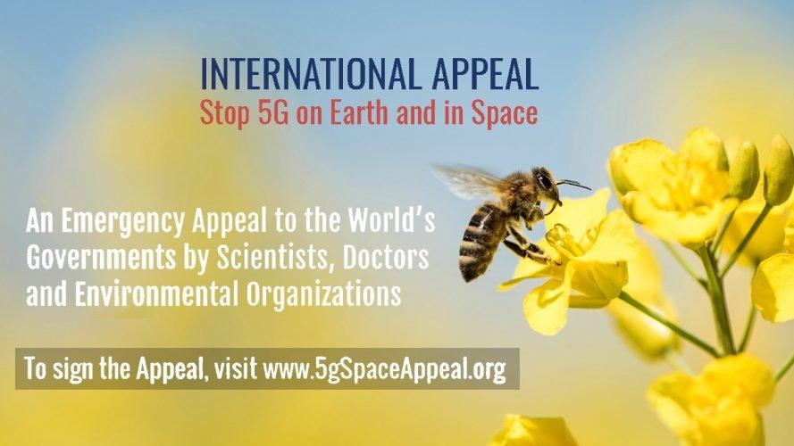Mezinárodní výzva na zastavení 5G technologií na Zemi i ve vesmíru