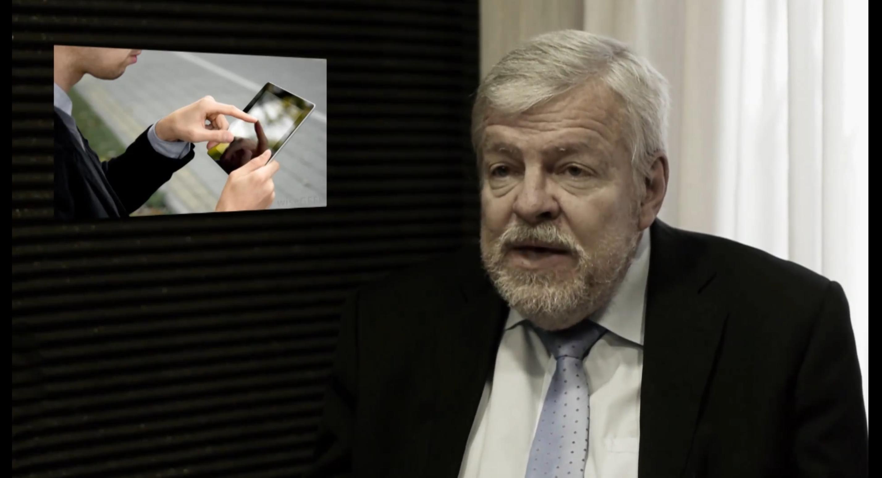 Profesor Olle Johansson objasňuje problém elektrosensitivity a vysvětluje, jak se chránit.ochraně