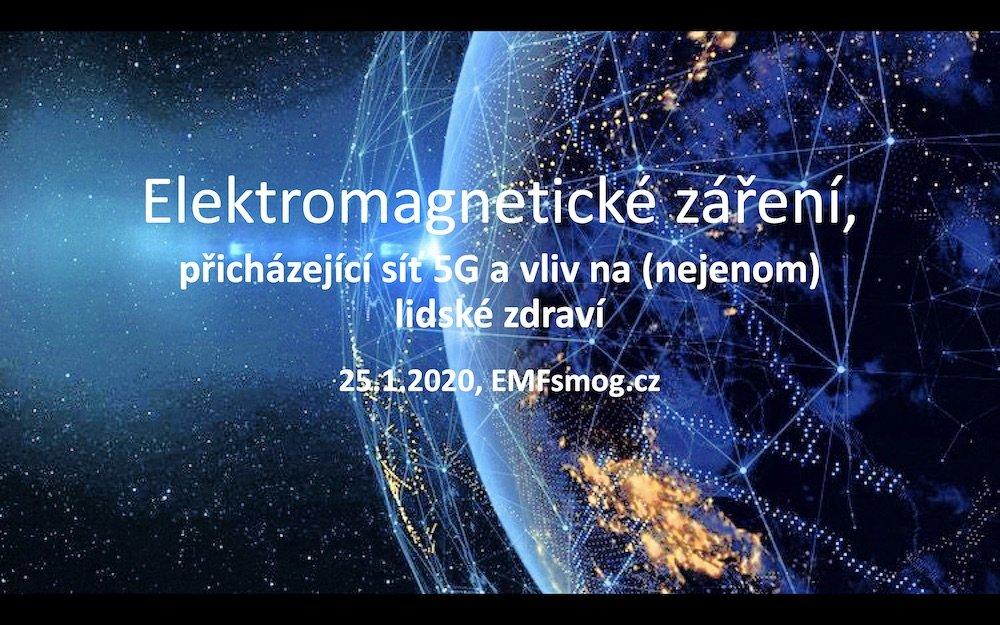 Přednáška Elektromagnetické záření a 5G