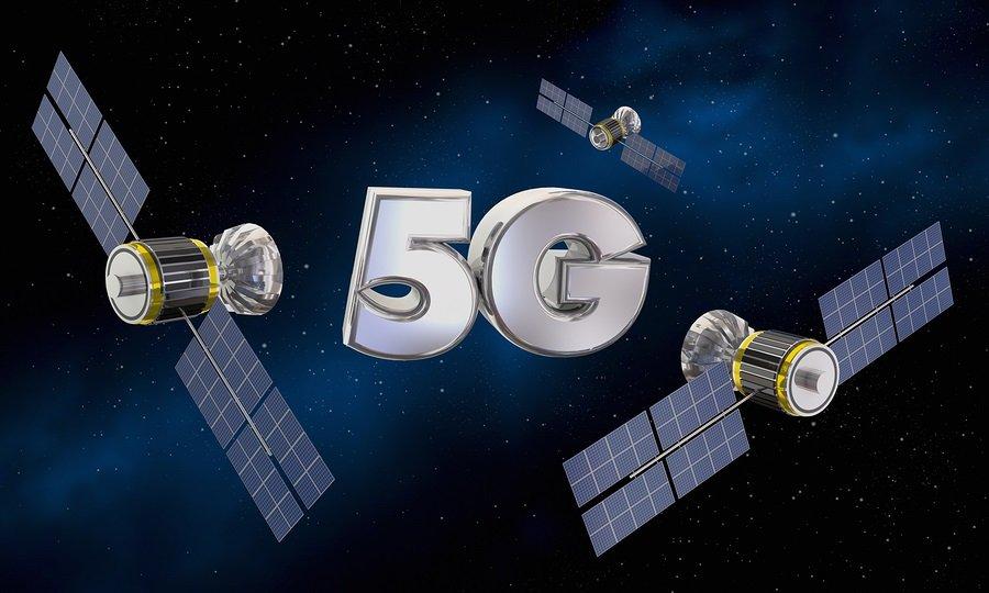 Satelitní bezdrátový internet prostřednictví 5G techmologií