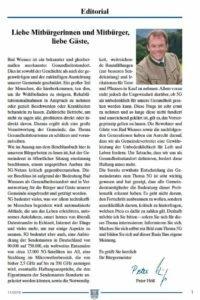 Starosta Peter Höß uplatnil zásadu předběžné opatrnosti a zastavil zavádění technologií 5G v Bad Wiesse