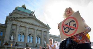 Událost protestu proti technologii 5G