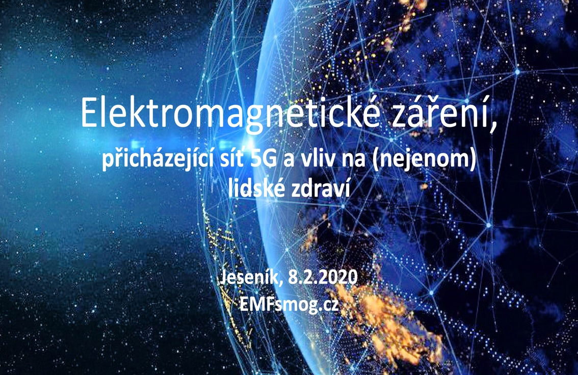 Přednáška na téma 5G síť Jeseník 8.2.2020